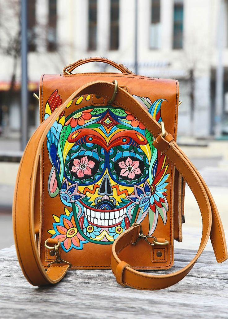 Handmade leather transformer backpack-shoulder by @dominator_bags…