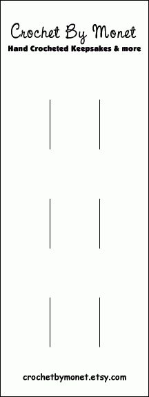 Hair Bow Cards By: CrochetByMonet: How To Make Hair Bow Display Cards