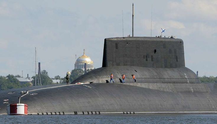 Russian submarines are prowling around vital undersea cables. It's making NATO nervous.  -  December 22, 2017.   The Russian submarine Dmitry Donskoy, the world's largest in active service, arrives at Kronstadt Navy base, outside St. Petersburg, in July.