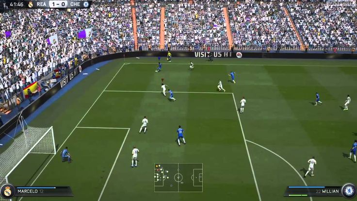 FIFA 15 Kick Off 2-2 REA V CHE, 2nd Half