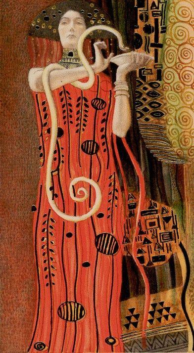 I. The Magician: Golden Tarot of Klimt