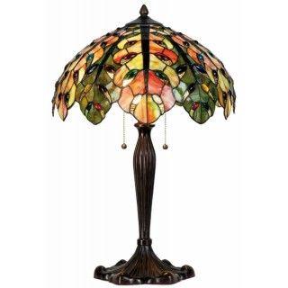 LumiLamp 5LL-5293 Stehlampe Tischlampe Tiffany-Stil OHNE...