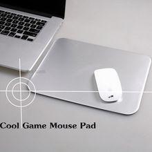 Nuovo!  3d arc-bordo del metallo di alluminio gioco mouse pad computer pc del computer portatile  Gaming mousepad per apple mackbook sc2 wow dota2 lol cs  Giocare(China (Mainland))