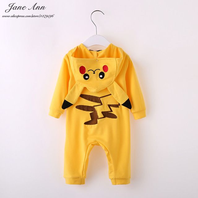 Promotion price Baby pikachu costume halloween baby clothes infant toddler long sleeve yellow hooded cartoon jumpsuit purim christmas gift  just only $10.84 with free shipping worldwide  #babyboysclothing Plese click on picture to see our special price for you