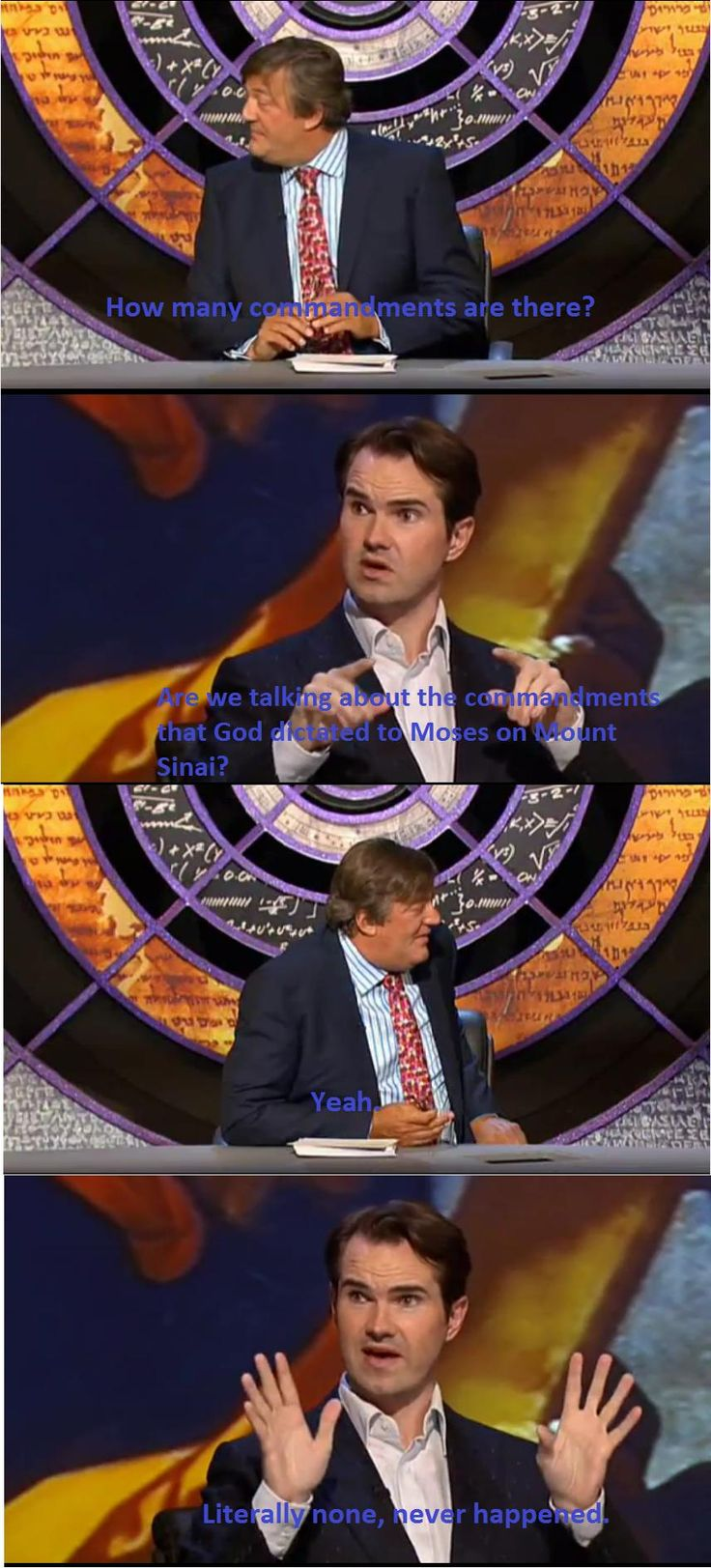I LOVE QI. and Jimmy Carr. and Stephen Fry most of all.