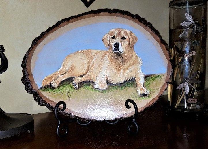 Dog memorial pet loss portrait Dog Memorial Portrait pet memorial gift pet painting Custom dog gift Custom pet portrait pet loss gifts