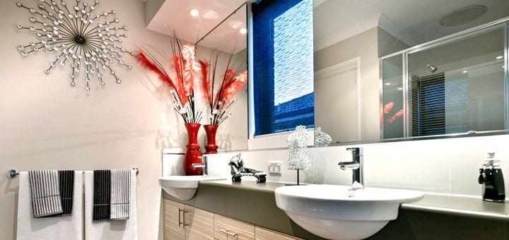 The bathroom - double sink