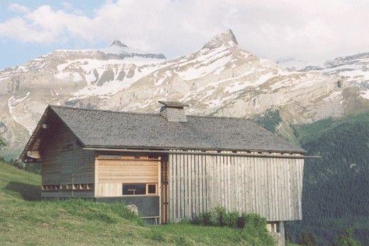 Rénovation d'une ferme de 1862 - CHARLES PICTET ARCHITECTE FAS
