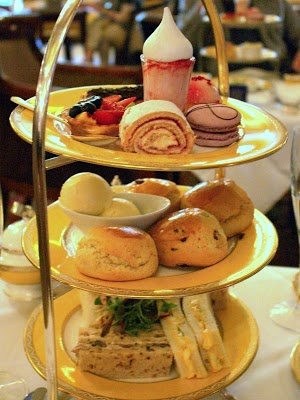 Bollinger Champagne afternoon tea at the Goring Hotel in London - yes please ...