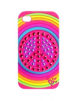 Justice toys for girls | Peace Rhinestone Tech 4 Case | Girls Toys Clearance | Shop Justice