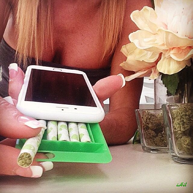Stash up to 5 pre rolled joints or blunts from your iPhone with the iHit!!!! Get for now @ theiHit.com