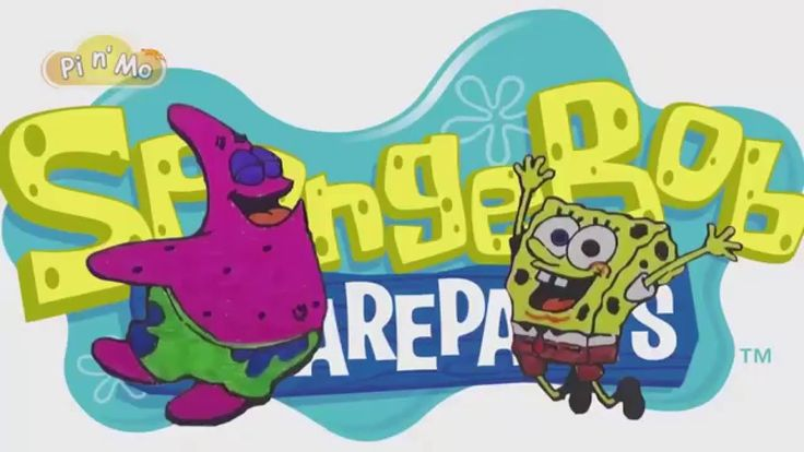 Coloring Pages For Kids With SpongeBob and Patrick Star Coloring Book Pi...