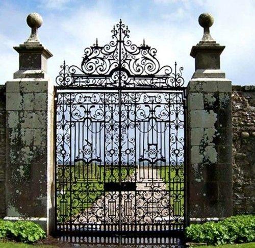 1000 Ideas About Wrought Iron Fences On Pinterest Iron