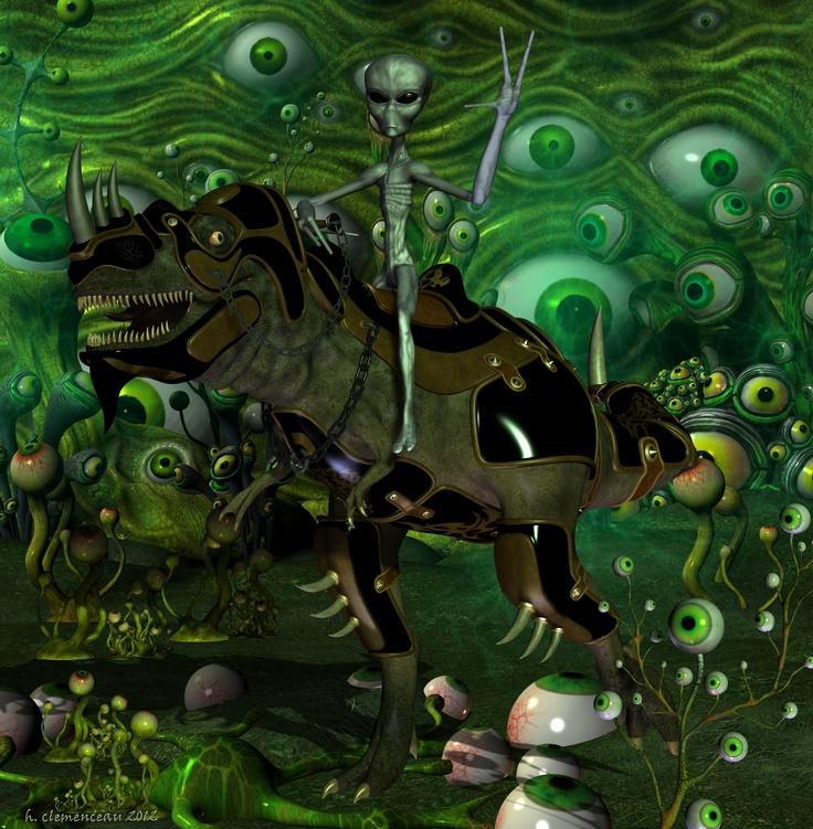 If aliens were equestrians......