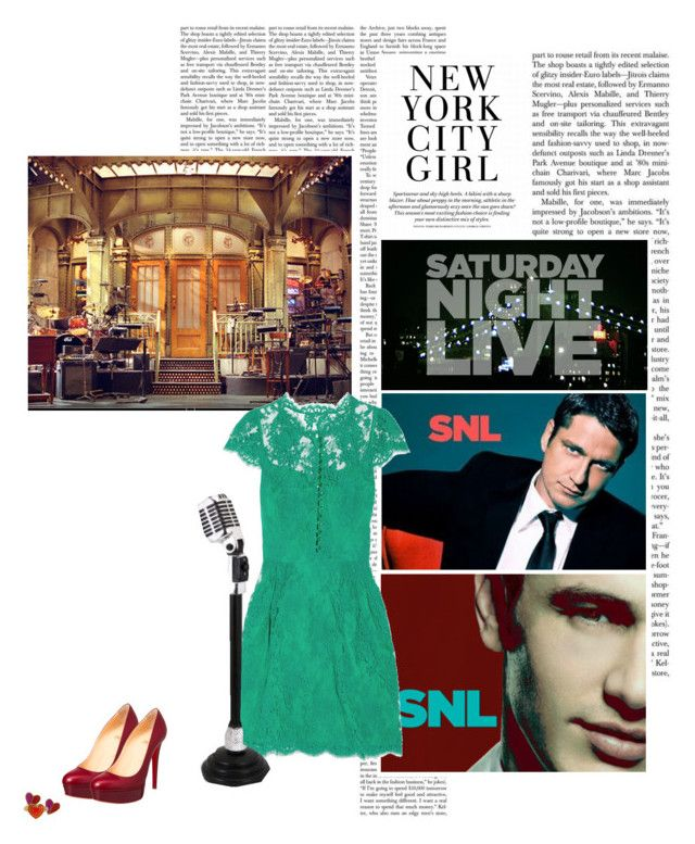 """""""07/50 Hosting SNL"""" by msamybites ❤ liked on Polyvore featuring Issa, WALL, Christian Louboutin, Marc by Marc Jacobs and STEPHANIE SIMON"""