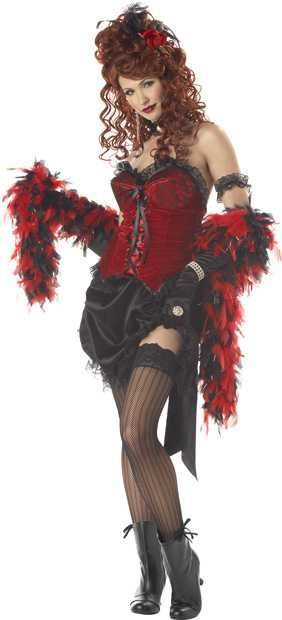 Buy a Women's Saloon Girl Costume for $59.99