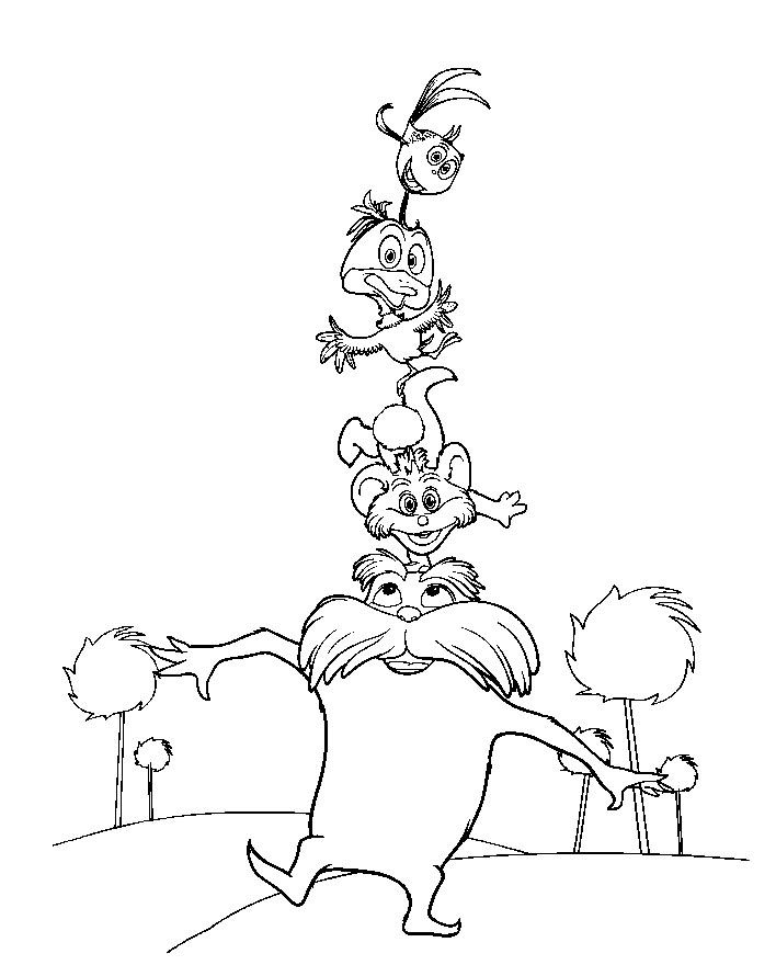 Lorax Coloring Pages Bear Coloring Pages Coloring Pages The Lorax