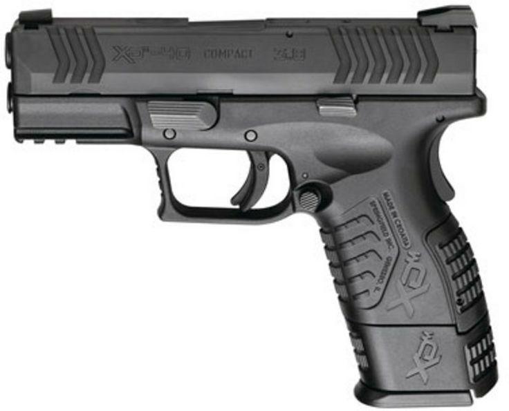 xdm 40 compact   Springfield XDM 40 S&W Compact Black