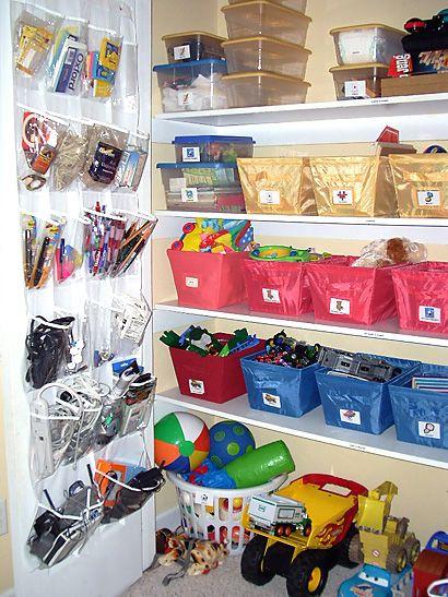 organising, organizing toys