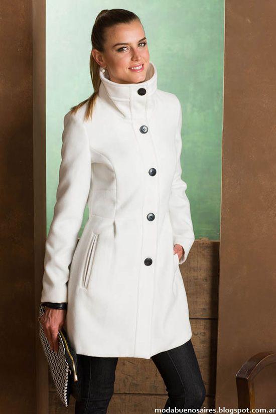 Normandie moda otoño invierno 2014 abrigos 2014.