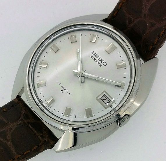 Vintage Seiko Automatic watch c.1975 by Pilbrows on Etsy