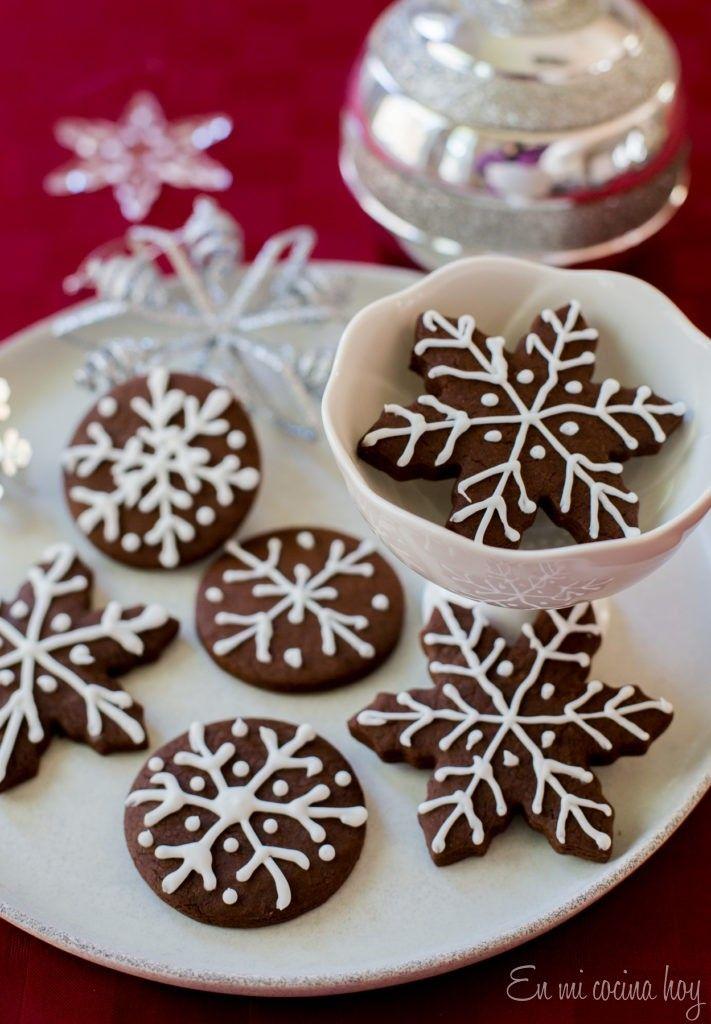 Galletas De Jengibre Y Chocolate En Mi Cocina Hoy Galletas De Jengibre Recetas De Galletas De Navidad Recetas De Galletitas Dulces