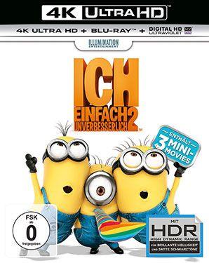 Ich: Einfach unverbesserlich 2 - Ultra HD Blu-ray [4k + Blu-ray Disc] • Foto & TV Deals