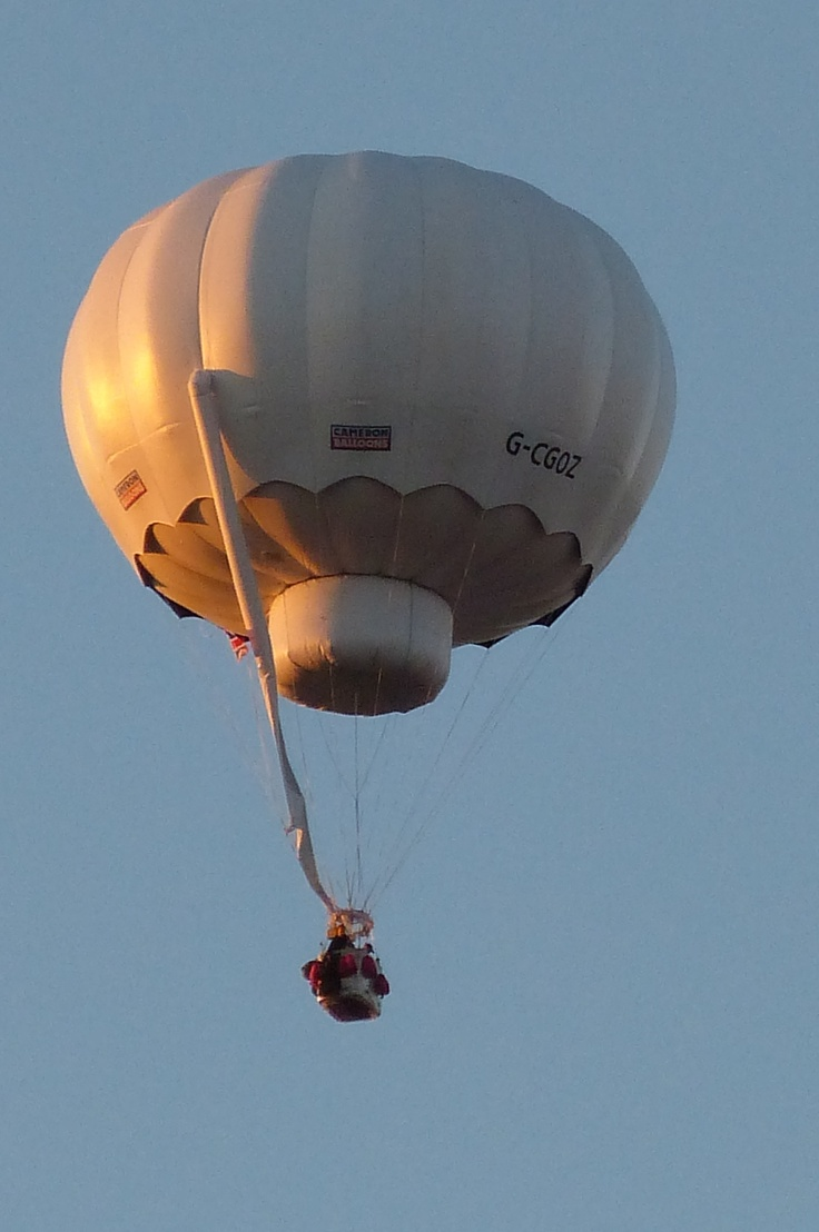 gas balloon, flew 72 hours