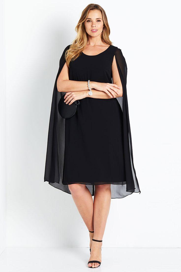 BELLE BIRD - Belle Cape Dress