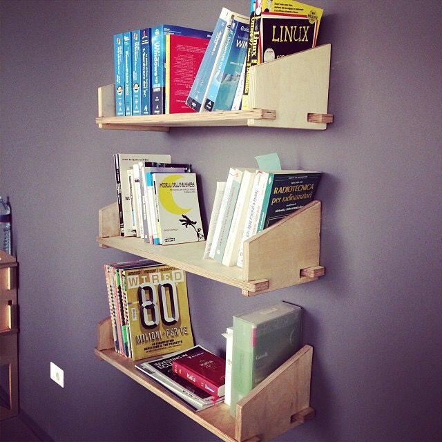 Bookshelf Linealeggera Km0design
