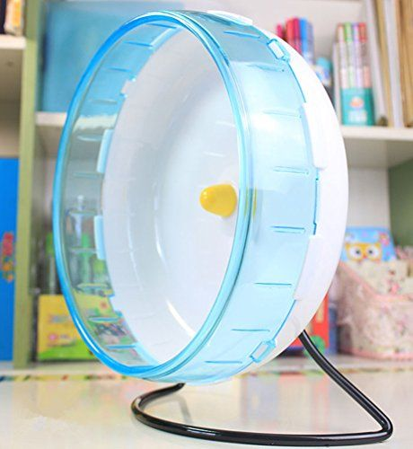 Be Good Pet Exercise Hamster's Wheel Running Spinner, Toy for Hamsters guinea-pigs  Product diameter: 8.3 inches  Package including: 1 hamster wheel silent  Detachable design makes assembly easy  Silent and non-slip, safe wheel for pet's toes and tails  For hamsters, mice, gerbils, or other small animals,Encourage healthy exercise