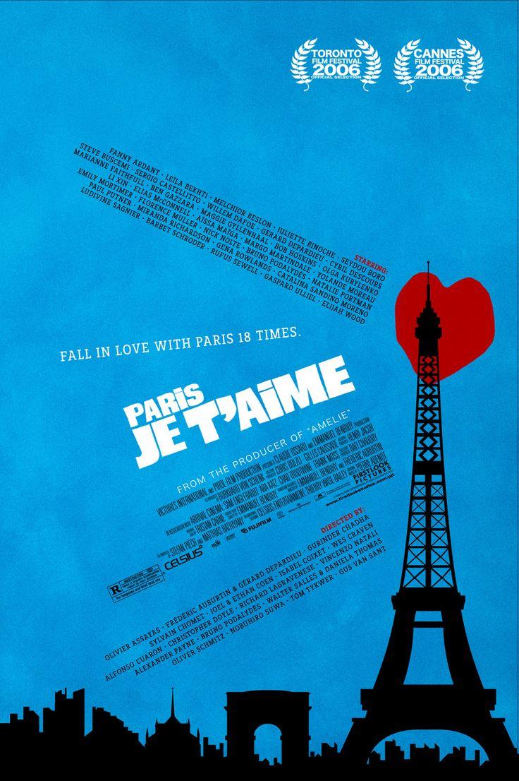 -Movie Posters, Je Taime, Je T Aim, Paris Je T'Aim Movie, Summer Movie, Paris Film, Paris Jetaime, T Aim 2006, Favorite Movie