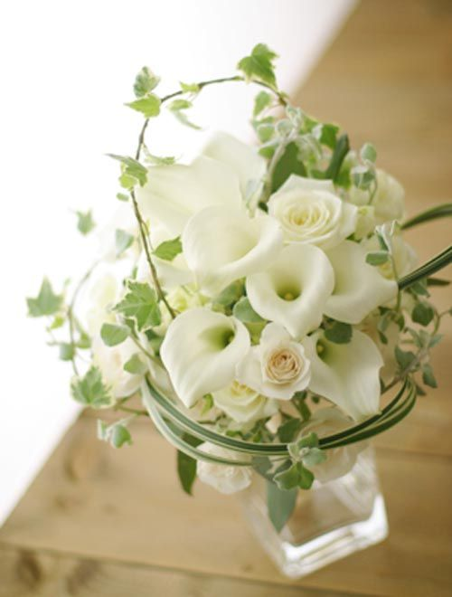 wedding centerpieces calla lilies and roses | ... Calla Lily Wedding Centerpiece Inspiration - Happy Wedding Wishes