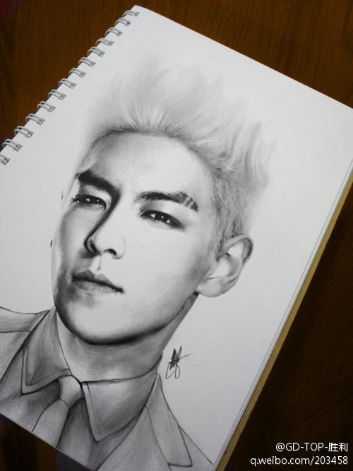 Big bang top, Amazing pencil drawings and Pencil drawings on Pinterest