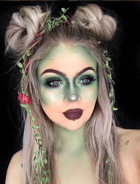 25 Halloween Make-up Seems to Scream Over