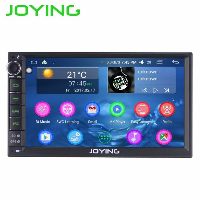 New Price $168.30, Buy JOYING Android 6.0 Intel Car Entertainment Multimedia Player System Wholesale Double 2 Din Car Audio Radio Head Unit Stereo