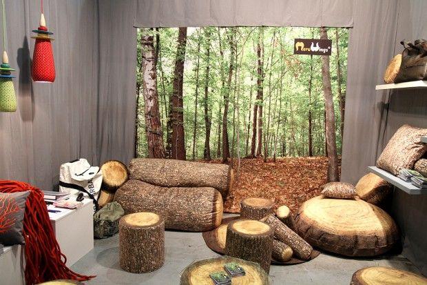 42 id es d co au salon maison objet 2013 poufs et salons for Deco objet salon