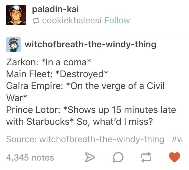 I really hope Lotor is like this. VLD