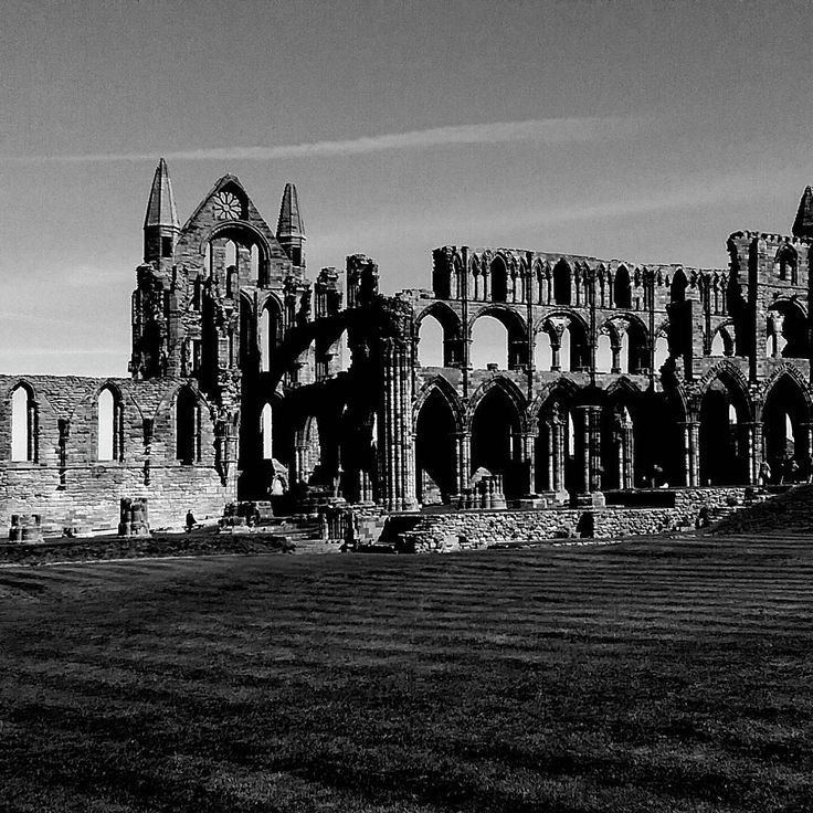 Spooky Old Whitby Abby, 199 Steps To Get Up There, Whitby