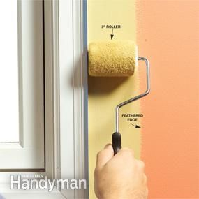 10 tips for a perfect paint job straight from professional painters! For example, should you paint the trim or the walls first? The answer might surprise you... #DIY