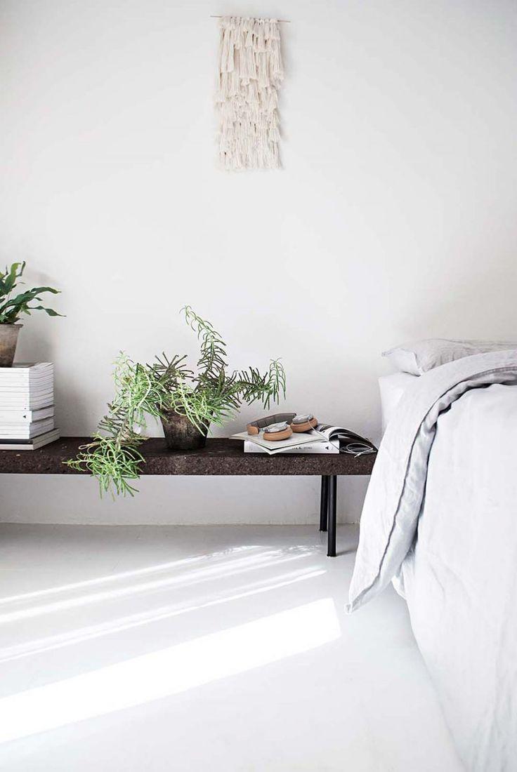 Friske grønne planter er en vigtig del af boligindretningen