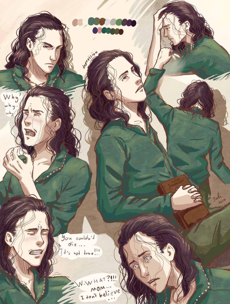 The dark world by Florbe Thorki Thor x loki Loki thor Loki