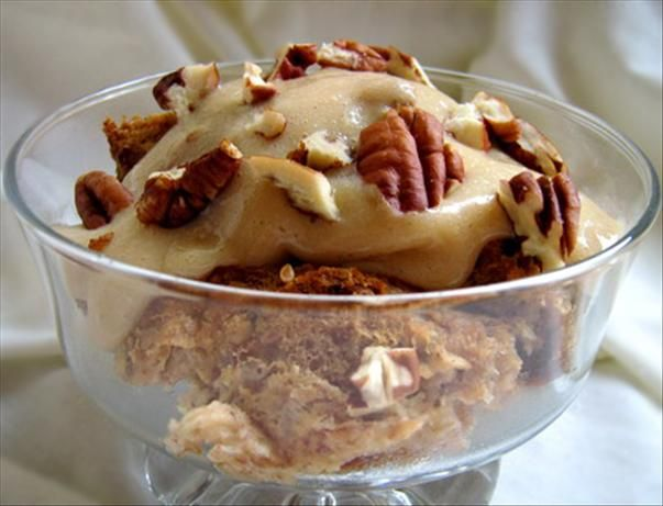 Bread Pudding With Rum Sauce, imagine the dense delicious flavor and ...