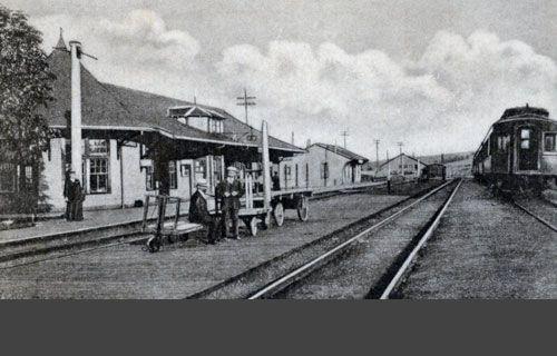 Railway stations in Orangeville Ontario