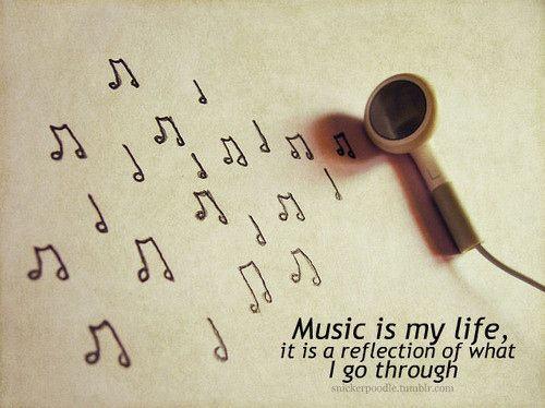 reflect: Music Inspiration, Life, Music Note, Favorite Things, Music Quotes, Random, Listening, Living, Music Speaking