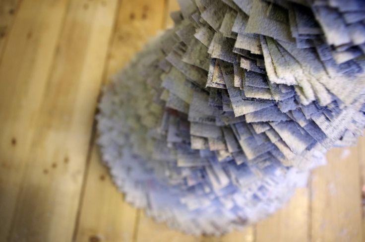 Papírové vánoce - Zkuste se před vánoci inspirovat některým z těchto papírových nápadů. ( DIY, Hobby, Crafts, Homemade, Handmade, Creative, Ideas)