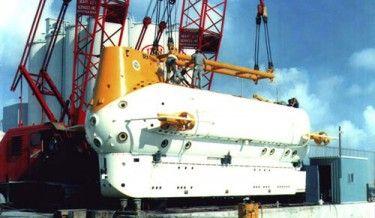 © Archives Piccard le PX 15 « Ben Franklin », dans lequel il explore le Gulf Stream en 1969, à l'occasion d'une plongée-dérive d'un mois sur 3'000 km avec 5 autres scientifiques de l'US Navy et de la NASA. Des centaines de milliers de mesures physiques, chimiques et biologiques ont été récoltées pour mieux comprendre ce courant marin si important pour l'équilibre climatique de l'hémisphère nord. Ce sous-marin est exposé au Musée Maritime de Vancouver, au Canada.