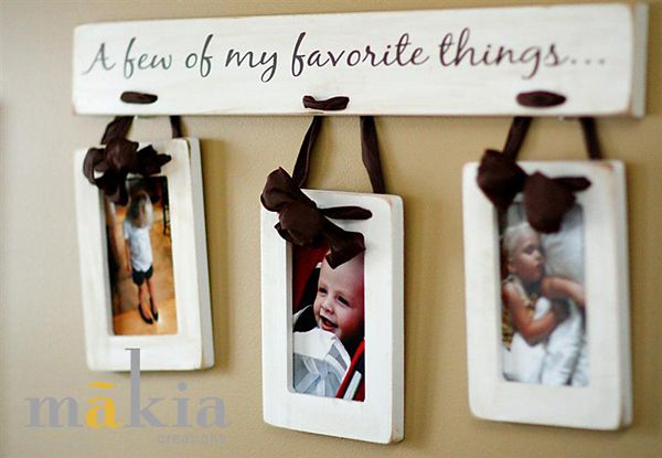 photo frame/ wood craft