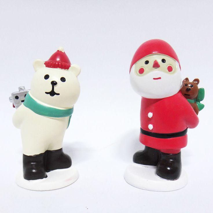 Concombre DECOLE Japan Cute Lovely Kawaii Figure Hiding Christmas Present Set #ConcombrebyDECOLE