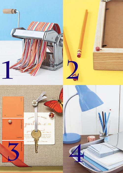 real simple office supplies. real simple ideas for new uses in 2012 office supplies s